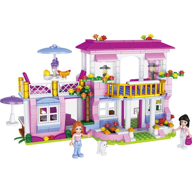 486pcs blocchi di costruzione Per Bambini giocattolo Compatibile Legoingly city amici ragazze FAI DA TE figures Mattoni regali di compleanno-in Blocchi da Giocattoli e hobby su AliExpress - 11.11_Doppio 11Giorno dei single 1