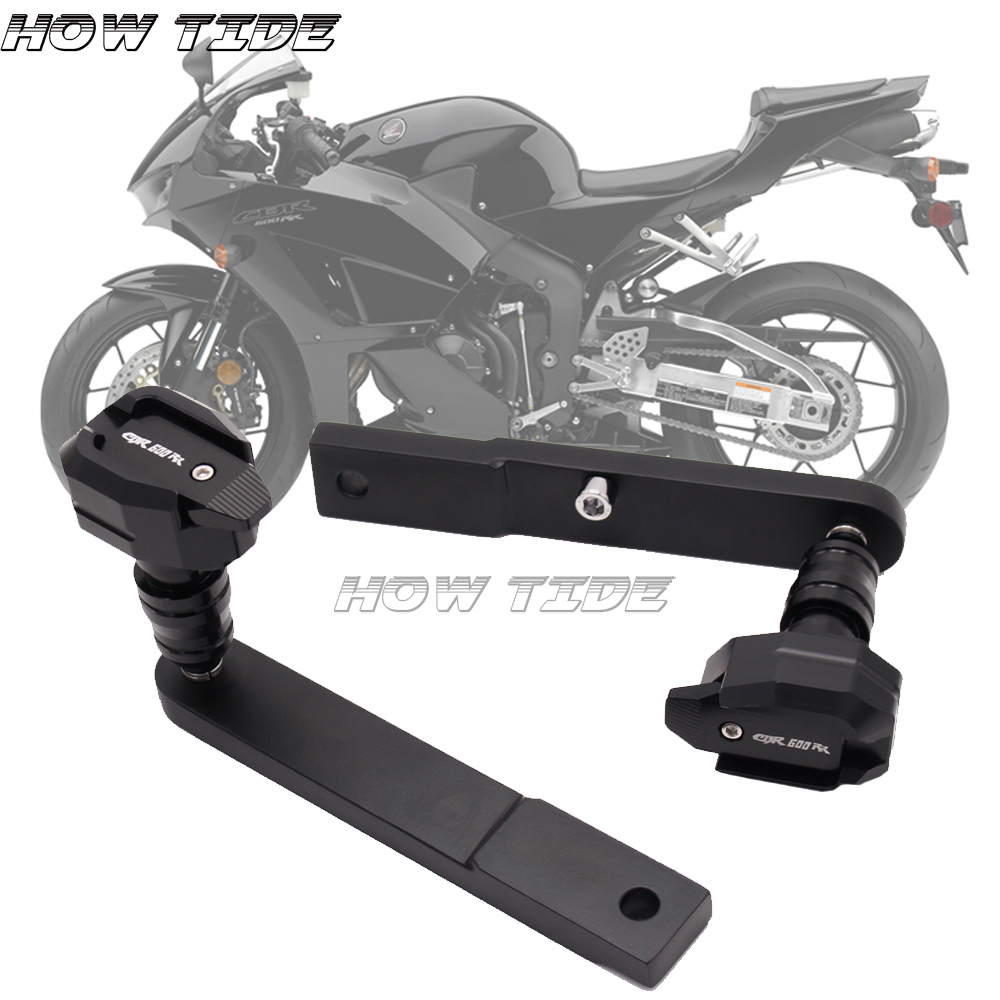 CBR600RR cadre curseurs Protection anti-choc pour HONDA CBR 600RR CBR600RR 2009-2013 accessoires moto Protection anti-chute aluminium