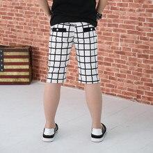 Classique Plaid Enfants Pantalon 2017 D'été Occasionnels Garçons Pantalon Enfants Pantalon Angleterre Style Filles Pantalon Nouvelle Marque Garçon Vêtements