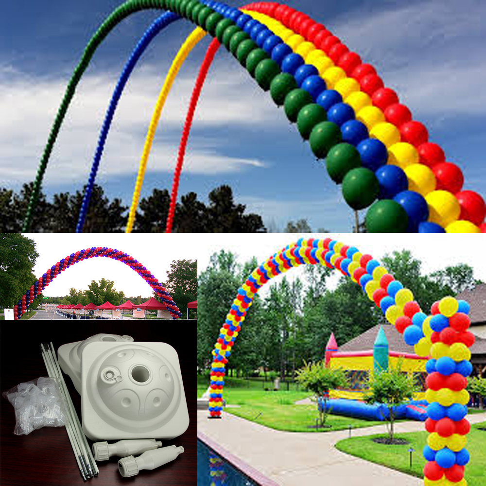 5 m x 4 m grande arco de globos para la fiesta de bodas lugar ...
