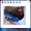 Pente QUENTE Bro Shaping Sexo Homem Cavalheiro Barba Barbear Escova Corte Template Template Ferramenta de Modelagem Barba Corte de Cabelo da Guarnição de Moldagem