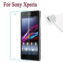 2.5D 9H Glass on for Sony Xperia L1 L2 XZ3 XA XZ1 XA1 Ultra XZ Tempered Glass Screen Protector For Sony XZS XZ2 XZ Premium Film(China)