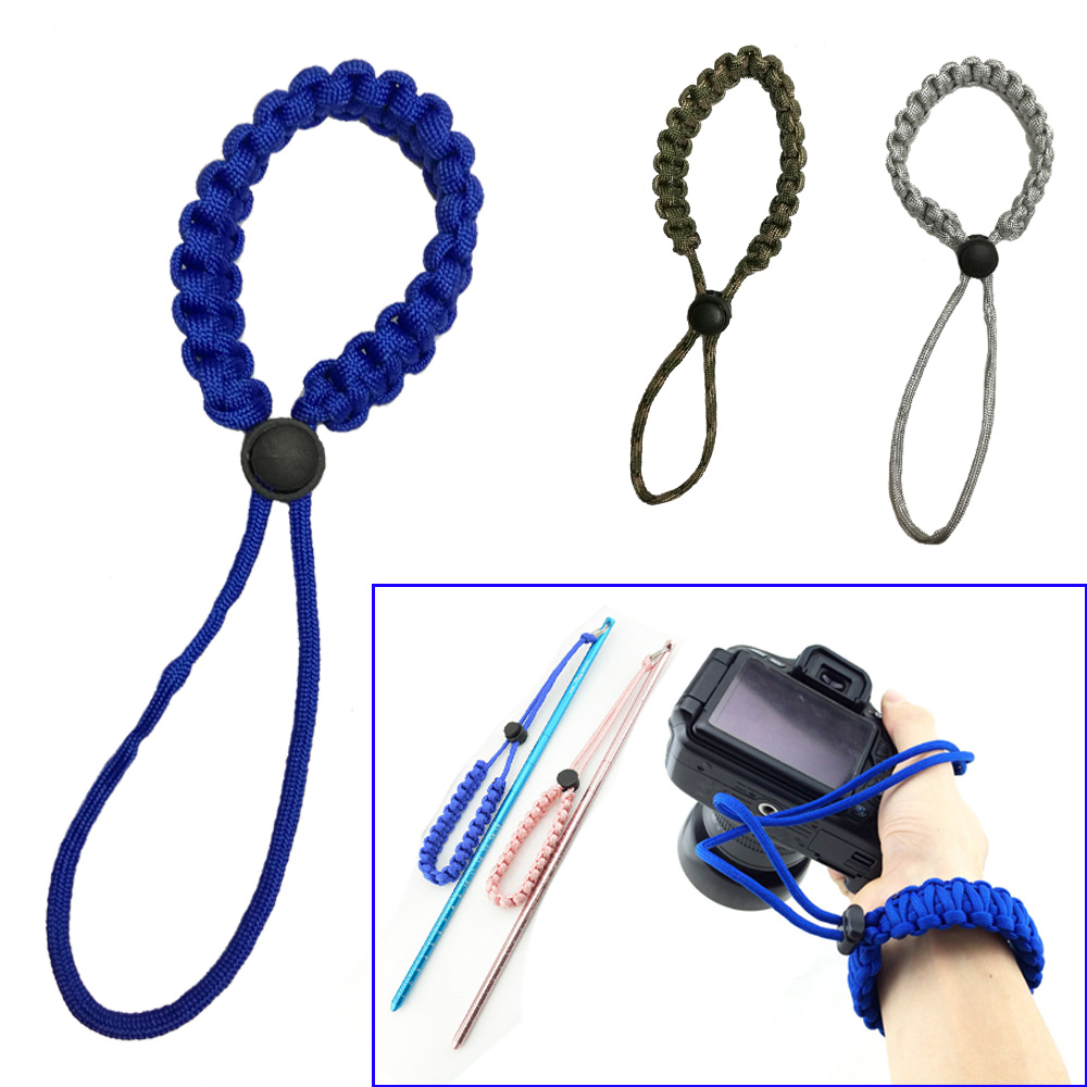 3 Color Underwater Camera Wrist Strap Scuba Diving Hand Wrist Rope Diving Pointer Anti-lost Hand Rope Swimming Accessories