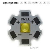 10PCS CREE 5050 20W Flip chip 5700K 6000K PCB20 MM XML XM-L XBD XPE XPL T6 LED U2 blanco LED de alta potencia chip 3pcs cree 5050 20w flip chip 5700k 6000k pcb20 mm xml xm l xbd xpe xpl t6 led u2 blanco led de alta potencia chip