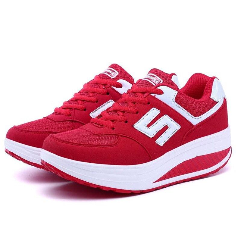 font b Women s b font Platform Shoes Summer 2016 Quality Breathable Wedges Shoes Women