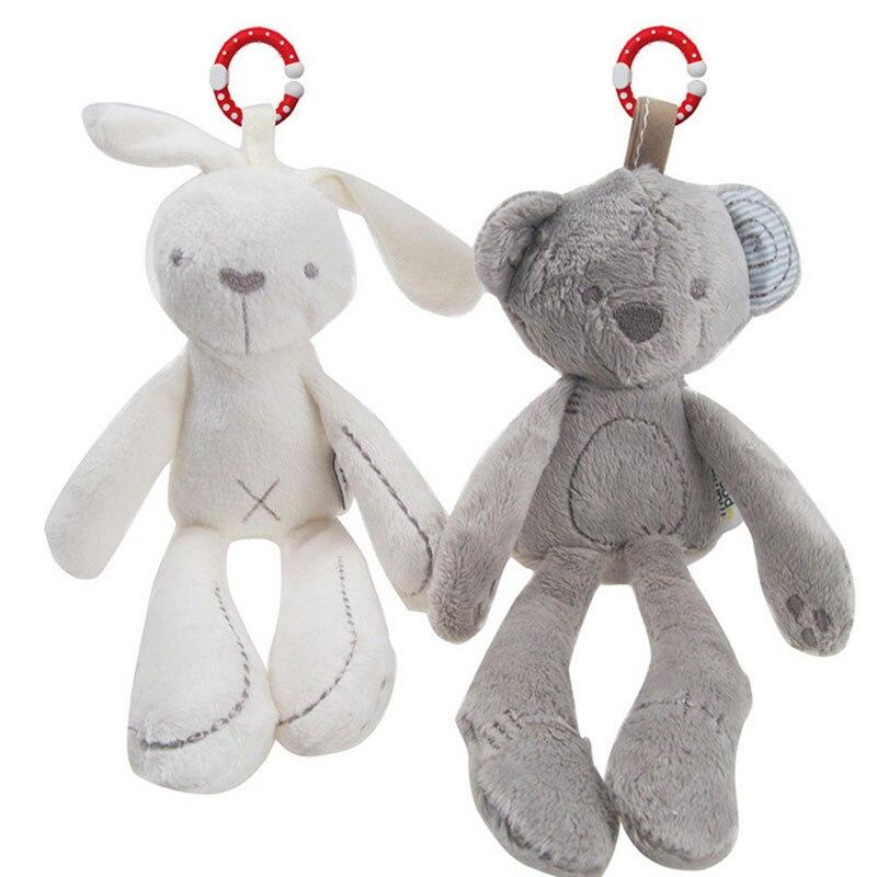Nouvel An Fille bo Super doux en peluche ours gazouillis bébé enfant chariot suspendu pendaison poupée poupée en peluche jouet pendentif Crochet jouets gg5