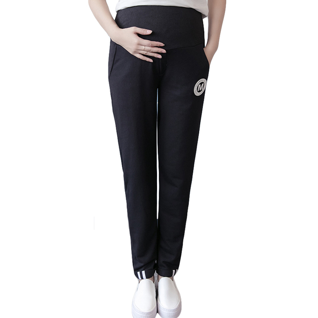 2017spring fashion maternity clothes overalls women pants pregnant overalls Loose cotton casual pants pregnant pants maternidade