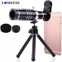 18x зум Объективы для телефонов телескоп HD объектив Комплект для iphone Huawei Xiaomi Samsung смартфон с мини-штатив