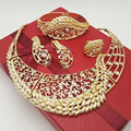 New african jewelry sets  gold plated jewelry sets big jewelry sets wedding jewelry sets fashion necklace
