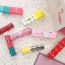 K.A.N Brand Hight Moisten lipstick Long-Lasting Makeup Water proof lipstick with Fruit or Wine Bottle or Crane By Factory