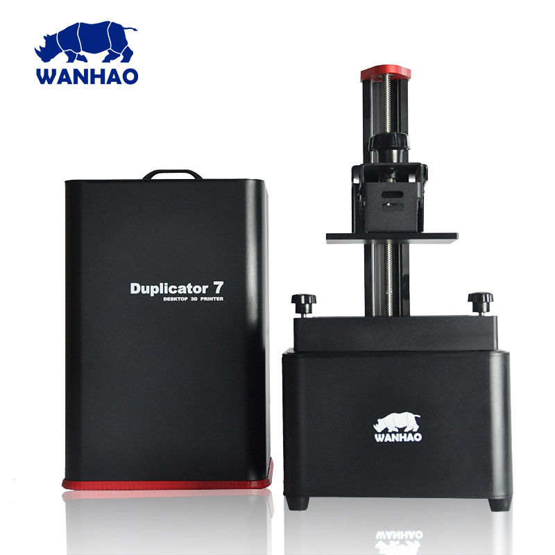 2018 New D7 V1.5 Wanhao Duplicator 7 UV resin 3D Printer SLA DLP 3D Printer for sale green uv 405nm photopolymer resin 1000 ml for wanhao duplicator 7 d7 lcd sla 3d printer