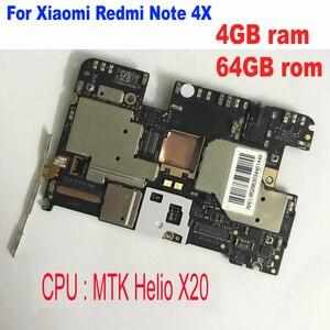 Image 1 - اللوحة الرئيسية للوحة إلكترونية لهاتف شاومي ريدمي نوت 4X MTK هيليو X20 4 جيجا بايت 64 جيجا بايت