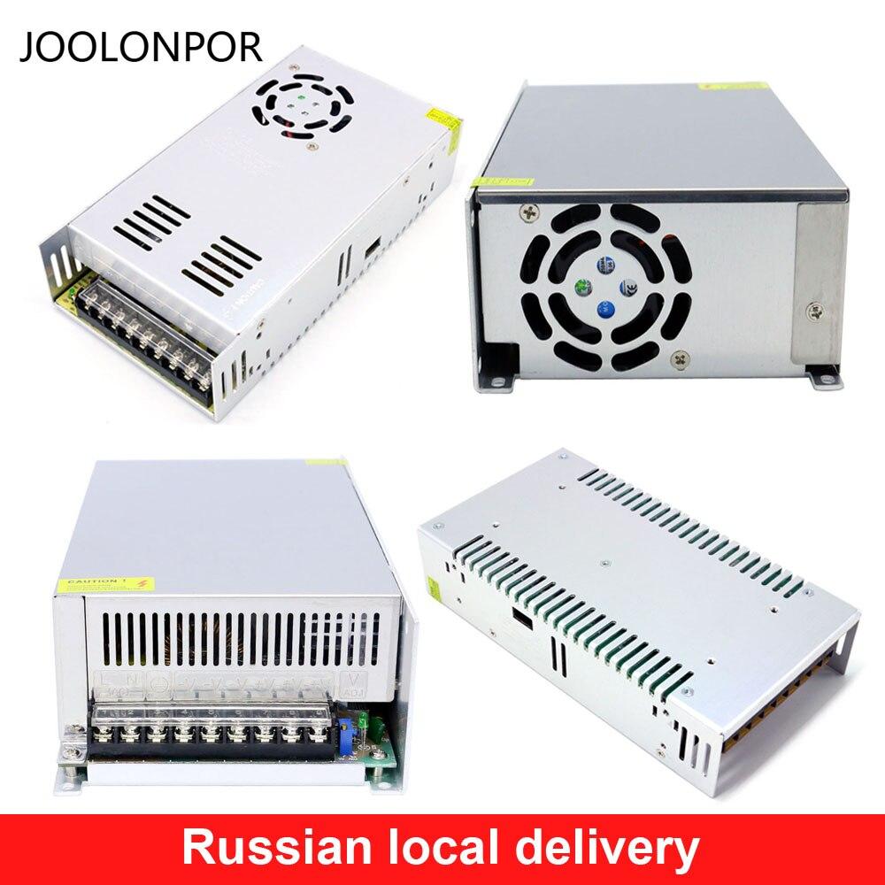 Fuente de alimentación constante de CA a CC 24V 20A 480W 500W 48V 10A 20A 400W 480W 500W 960W 1000W transformador Led fuente de alimentación de conmutación