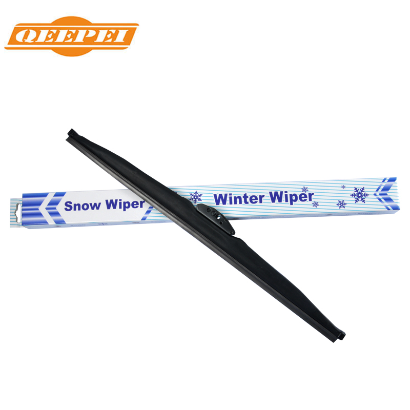 QEEPEI Winter Snow Wiper Blade U Hook Universal High Quality Rubber Windshield Windscreen Auto Car Accessories auto car windscreen snow ice frost windshield roof covers protector 610025