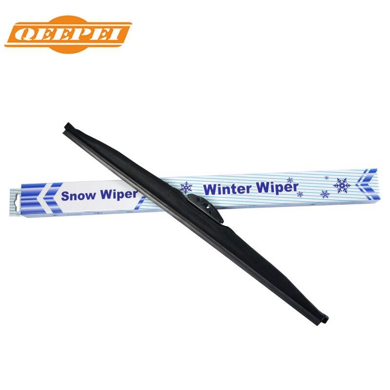 QEEPEI Winter Snow Wiper Blade U Hook Universal High Quality Rubber Windshield Windscreen Auto Car Accessories