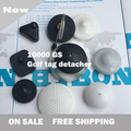 2015 new 10000gs magnetic force security golf tag detacher hard tag remover free shipping with best price