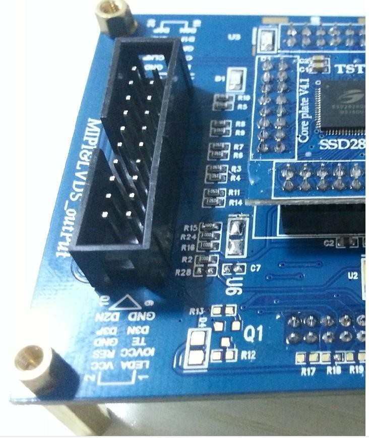 US $30 0 |New version, SSD2828 bridge board, supportable MIPI 4 lane, can  use for LCD test jig or other study/development-in Set-top Boxes from