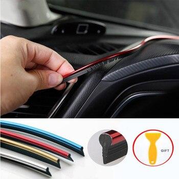 цена на 5M Car Styling Interior Accessories Strip Sticker For Chevrolet Cruze Aveo Lacetti Captiva Cruz Niva Spark Orlando Epica Sail