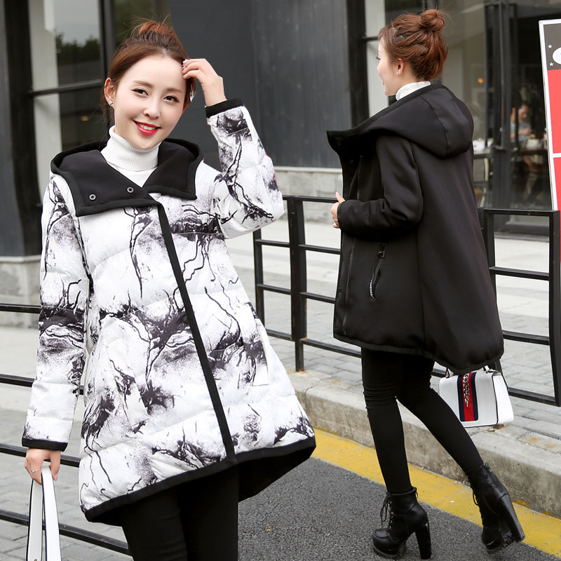 New style pregnant women clothing winter coat coat loose thick fashion pregnant women cotton for pregnancy loveincolors new fashion pregnancy women