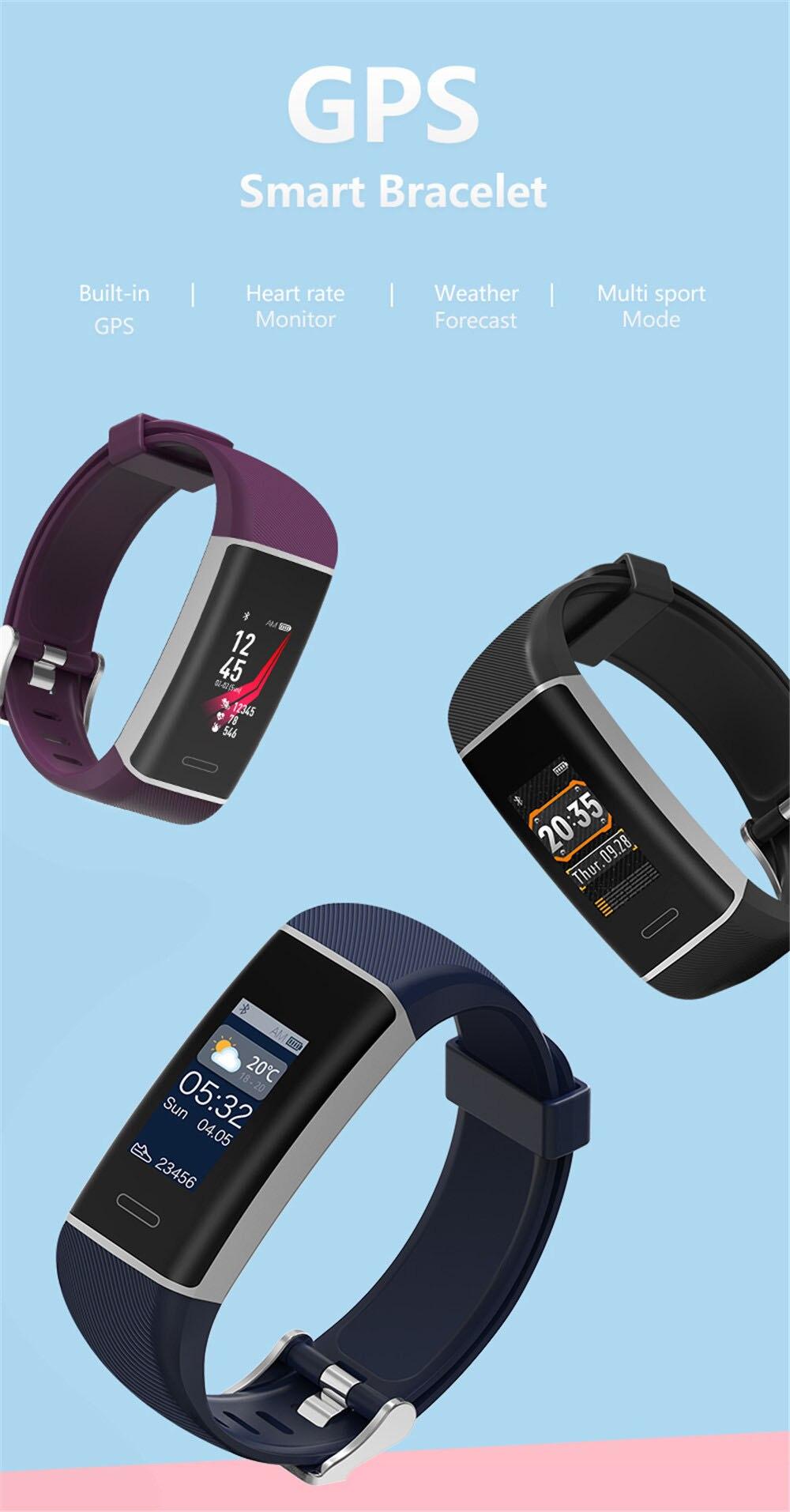 b19b2e62b57 Aliexpress.com  Compre Esportes GPS Relógio Inteligente Pulseira De ...