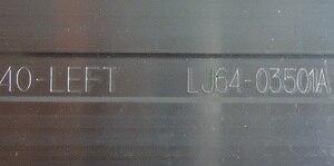 Image 5 - חדש 40PFL5007T 40PFL5007T 40 שמאל 40PFL5527T LJ64 03501A LJ64 03514A LED תאורה אחורית רצועת STS400A75 56LED REV.1 STS400A64 56LED