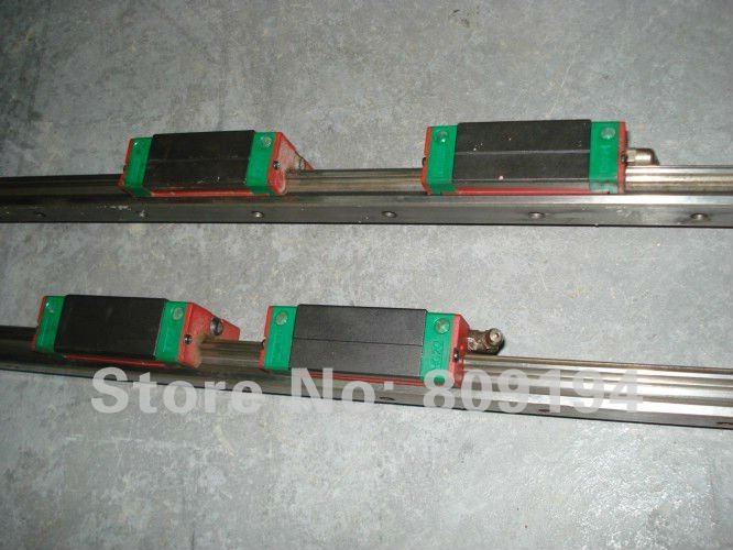 CNC 100% HIWIN HGR15-2600MM Rail linear guide from taiwan hiwin linear guide rail hgr15 from taiwan to 1000mm