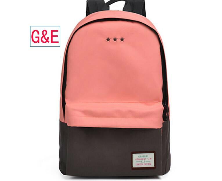 все цены на 2017 Fashion Style Hot Sales Leisure Backpack For Teenagers Cheap Discount School Bag Free shipping онлайн