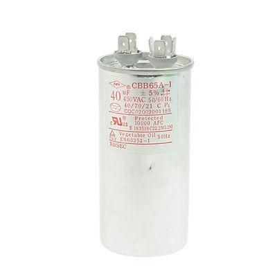1PC AC 450V 10uF/20uF/25uF/30uF/35uF/40uF/45uF/60uF/65uF/80uF/100uF 50/60Hz Metallic Polypropylene Film Motor Capacitor CBB65A-1 винт hexagon socket screw 10 16 20 25 30 35 40 45 50 55 60 65 120