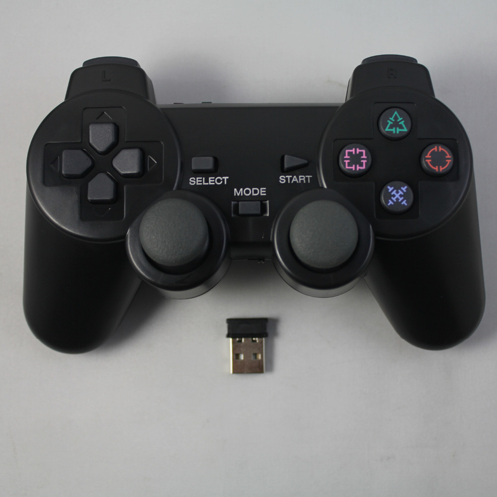 2 4G wireless game controller gamepad joystick for PS3 console playstation 3 video gaming play station
