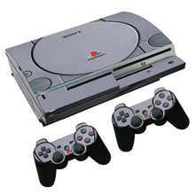 PS1 Style Skin Sticker Decal for PS3 Fat PlayStation 3 Console and Controllers For PS3 Skins Sticker Vinyl Film