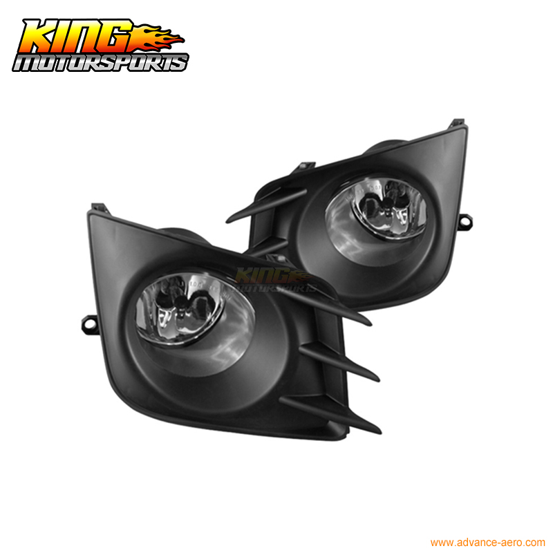 For 11,12 13 Scion TC Fog Lights Clear With Wiring Kit /& Installation Included