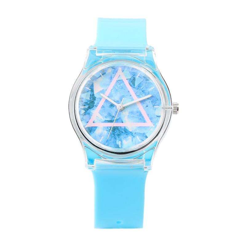 시계 여성 새로운 럭셔리 브랜드 패션 캐주얼 석영 손목 시계 젤리 실리콘 스트랩 방수 레이디 시계 Relogio Feminino