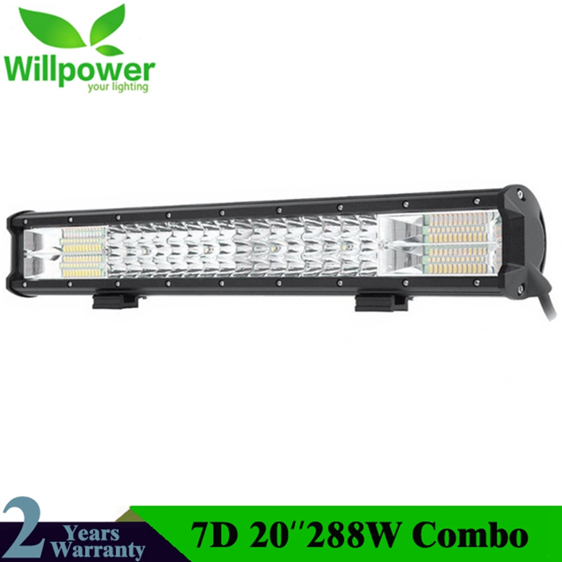 20 LED Work Light Bar 288W Car Truck Trailer Wagon RZR 4X4 4WD ATV Pickup Boat Combo Beam LED Driving Lamp 12V 24V Work Lamp20 LED Work Light Bar 288W Car Truck Trailer Wagon RZR 4X4 4WD ATV Pickup Boat Combo Beam LED Driving Lamp 12V 24V Work Lamp