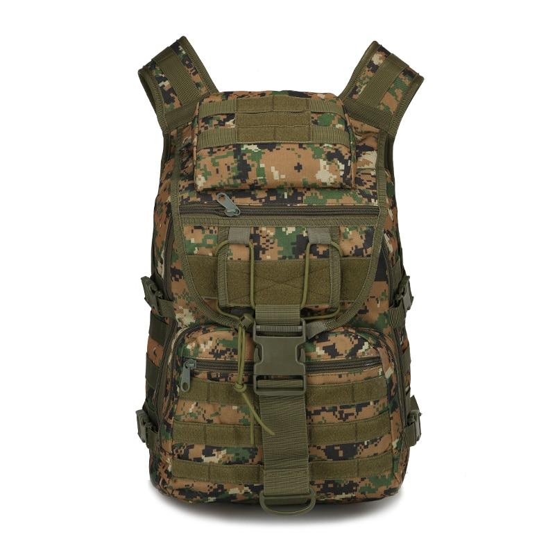 Sac à dos tactique militaire en plein air Trekking Sport voyage Oxford Camping randonnée Trekking énorme sac de Camouflage en plein air