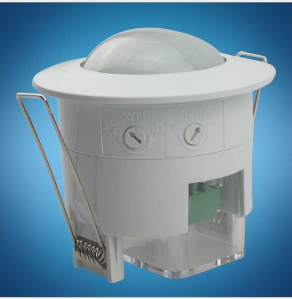 купить New Style 360 degree Recessed PIR Ceiling Occupancy Body Infrared Motion Sensor Sensitive Switch по цене 419.55 рублей