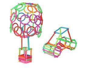 Image 3 - 65/120Pcs התאסף אבני בניין DIY חכם מקל בלוקים דמיון יצירתיות למידה חינוכית צעצועי ילדי מתנה ZXH