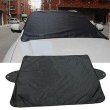 NoEnName_Null защита от снега, льда, солнца, пыли, мороза, мороза, лобовое стекло автомобиля, защита#30