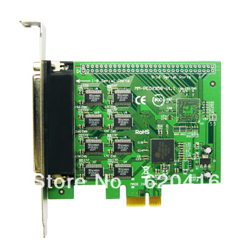 iocrest 16-port DB-9 Serial (RS-232) PCI-e Controller Card,Oxford 958 chpset