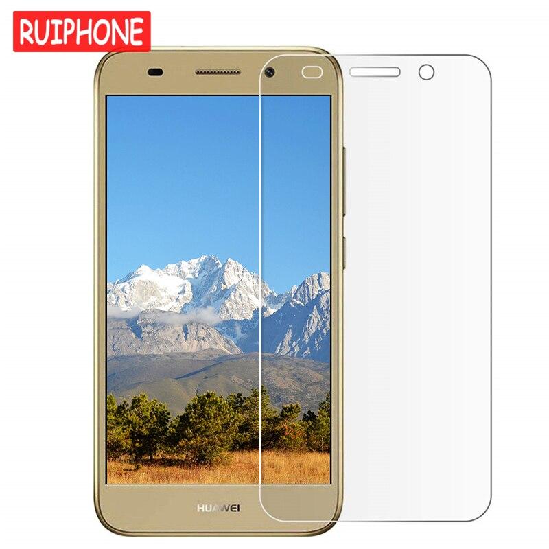 9H Tempered Glass For Huawei Y3 Y5 Y6 2017 Y7 Prime Y9 2018 Screen Protector For Huawei Y6 Pro Y6II Y5II Y3II Y5 II 2 Glass