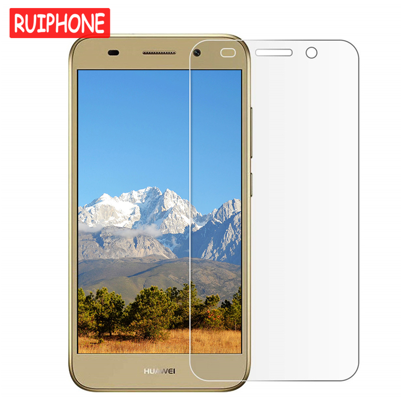 9H Tempered Glass For Huawei Y3 Y5 Y6 2017 Y7 Prime Y9 2018 Screen Protector For Huawei Y6 Pro Y6II Y5II Y3II Y5 II 2 Glass