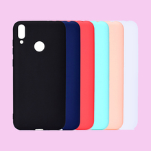 Fashion New Candy Macaron Colors Soft TPU Case Mobile Phone Bags Silicone Back Cover Shell Coque Fundas Capa for HUAWEI Honor 8C
