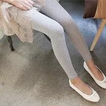 Women Leggings Stretch Modal Cotton High Waist Comfortable Elastic Skinny Pants