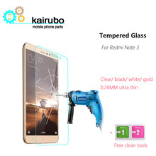 купить 3pcs Tempered Glass For Xiaomi Redmi Note 3 Pro 2.5D Screen Protector Transparent Film Xiomi Redmi Note 3 Xiami Redmi Note 3 онлайн