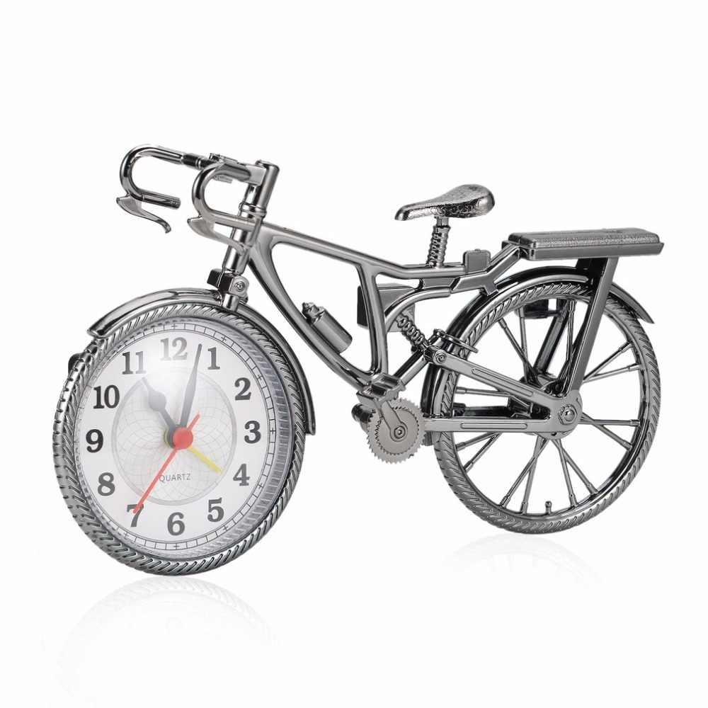 1Pc ABS רטרו אופניים מעורר שעון מגניב סגנון שעון אופנה אישיות מחט שעון NZ-035 פופולרי 22*6*13cm