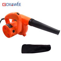 GOXAWEE 220V 600W Electric Air Blower Fan Ventilation Dust Collector Industrial Blower for Removing Dirt Cleaning For Computer