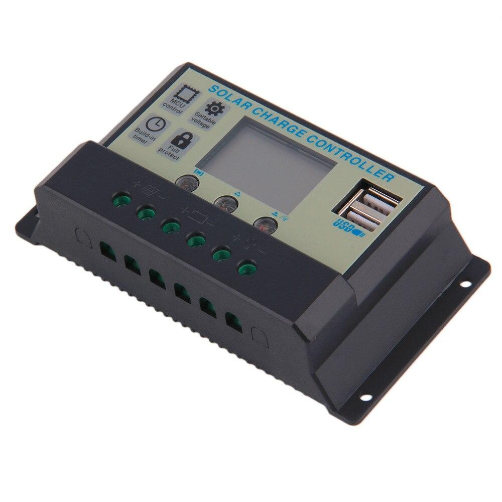 Hot Selling! Solar Charge Controller 20A 12V/24V Battery Regulator Charger TX-20AL