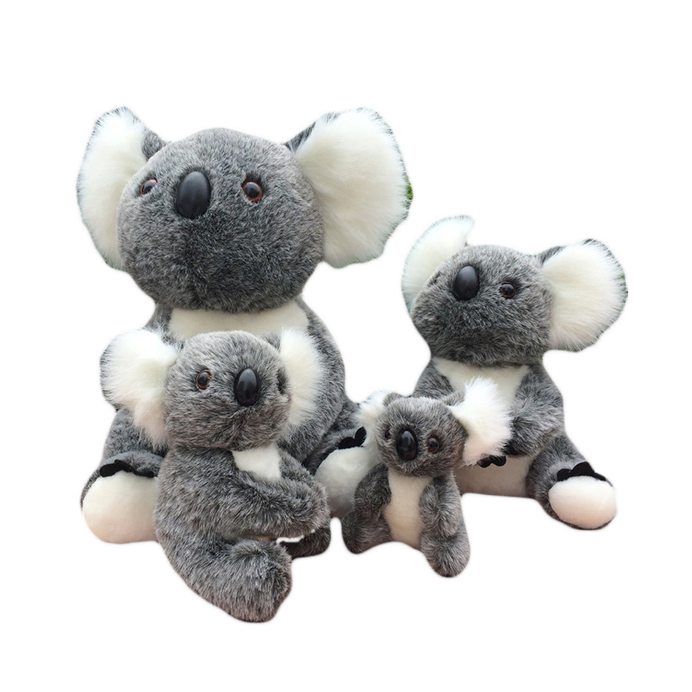 Koala Knuffel Us 14 78 Dolls Cute Animal Stuffed Plush Toys Soft Baby Koala Kids Doll Brinquedo Menina Graduation Gift Knuffel Toys For Children 70g341 In Stuffed
