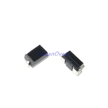 100pcs/lot 1N5819 IN5819 SS14 1A 40V SMD DO-214AC Schottky Diode In Stock