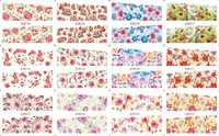 On Sale 1 Lot 20sheets 12 In One Sheet New Style Nail Art Water Sticker Colorful