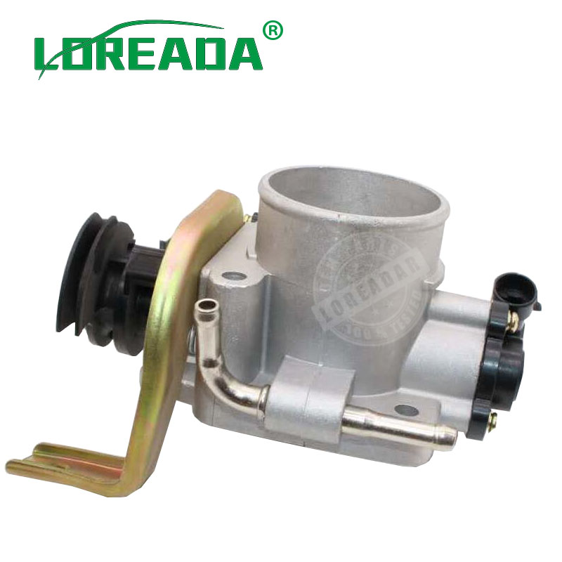 купить Loreada Orignial Throttle body assembly for Great Wall Hover H3 H5 DELPHI system Bore Size 55mm air intake car motorcycle spare онлайн